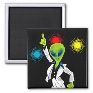 Disco Alien Magnet