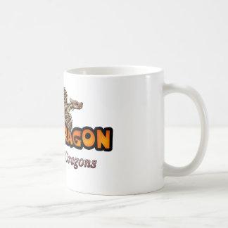 disco and Dragons Coffee Mug