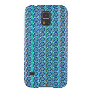 Disco AZUL de BlueStar de la chispa: por NAVIN JOS Fundas Para Galaxy S5