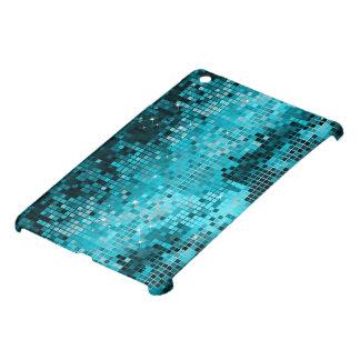 Disco azulverde metálico MirrorsBall de la mirada  iPad Mini Carcasas