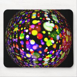 disco-ball-381907  COLORFUL BOHEK MUSIC PARTY CIRC Mouse Pad