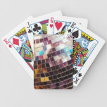 Disco Ball Bicycle Playing Cards
