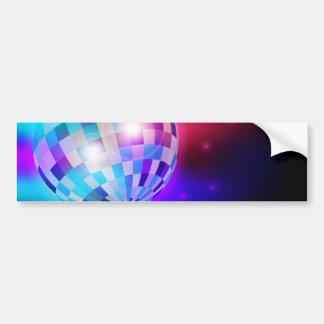 Disco Ball Bumper Sticker
