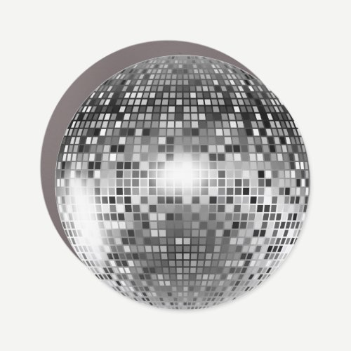 Disco Ball Car Magnet