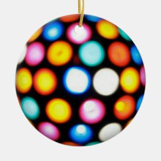 Disco Ball Ceramic Ornament