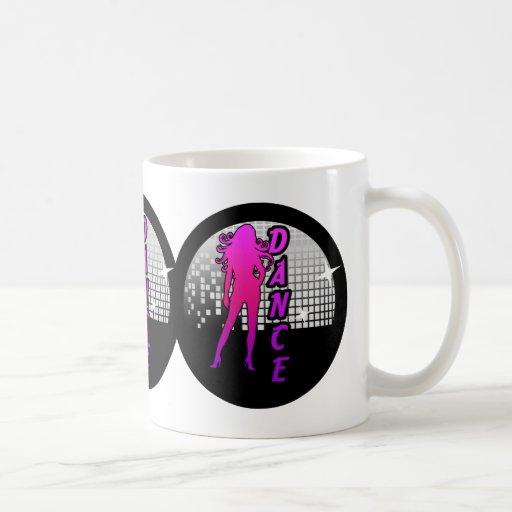Disco Ball Dancer. Mug