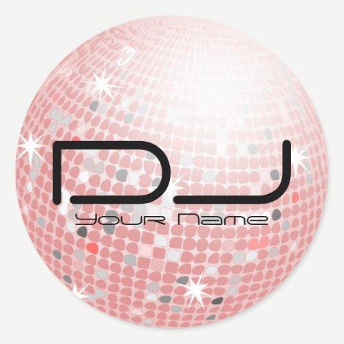 Disco Ball DJ Sticker