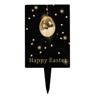 Disco Ball Easter Egg - Cake Topper