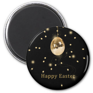Disco Ball Easter Egg - Magnet