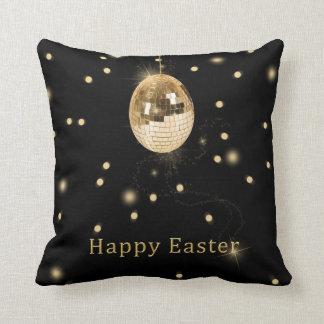 Disco Ball Easter Egg - Square Pillow