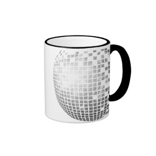 Disco Ball Fun Retro Mug