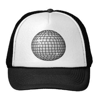 disco ball mesh hat