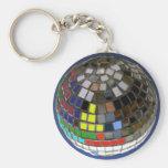 disco ball key chains