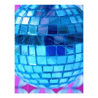 Disco Ball Letterhead