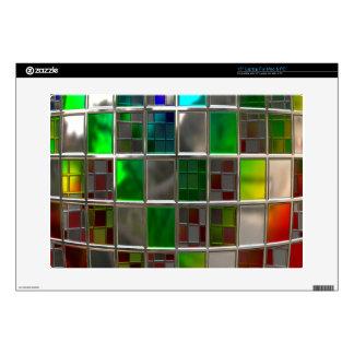 Disco Ball Metallic Rainbow Laptop Skins