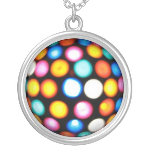 Disco Ball Pendants