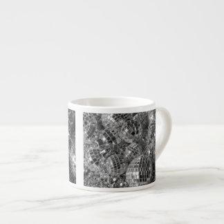 Disco Ball Ornaments 6 Oz Ceramic Espresso Cup