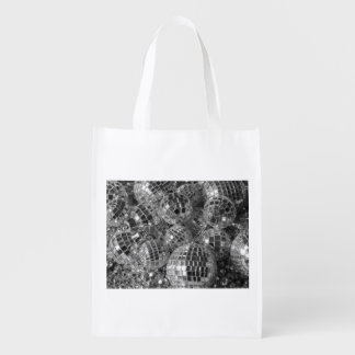 Disco Ball Ornaments Grocery Bag