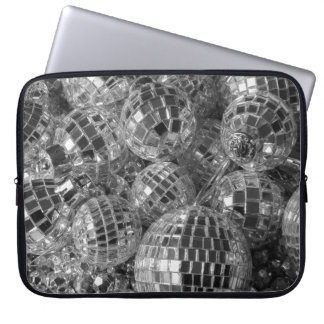 Disco Ball Ornaments Laptop Computer Sleeves