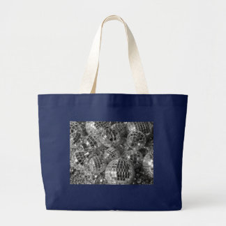 Disco Ball Ornaments Large Tote Bag