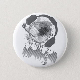 Disco_Ball Pinback Button