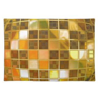 Disco Ball Place Mat