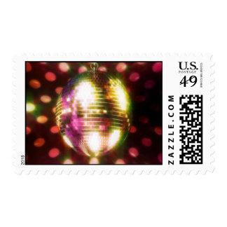 Disco Ball Postage Stamp