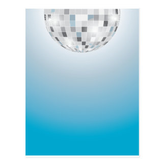 Disco Ball Postcard