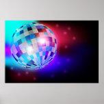 Disco Ball Poster