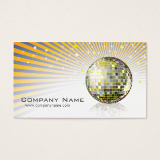 Disco Ball Profile Card