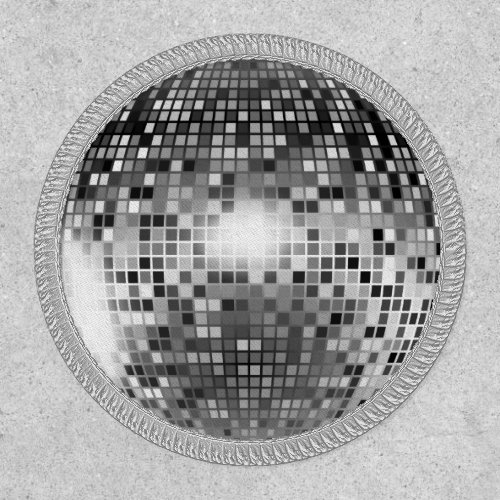 Disco Ball Round Patch