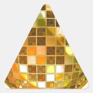 Disco Ball Triangle Sticker