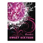 Disco Ball - Sweet 16 invitation