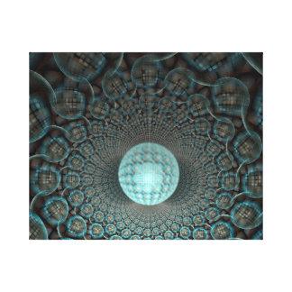 Disco Ball Tomb Canvas Print