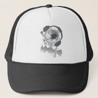 Disco_Ball Trucker Hat