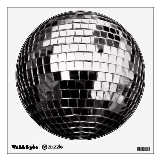 Disco Ball Vector Wall Decal