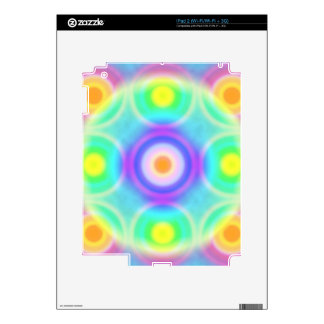 Disco Balls Rainbow Pattern 3 iPad 2 Skins