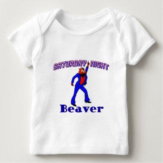 Disco Beaver Baby T-Shirt