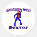 Disco Beaver Sticker