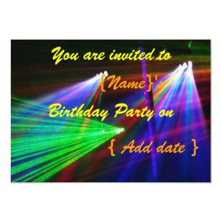 Disco Birthday Party Invitation 3