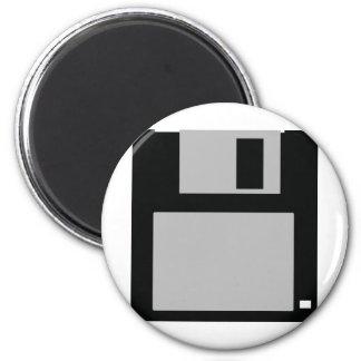 disco blando 3,5 del oldschool imán redondo 5 cm