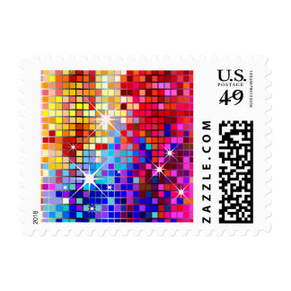 Disco Bling Party Postage