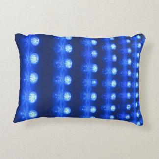 Disco Blue Decorative Pillow