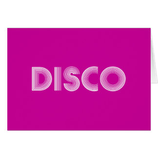 disco card