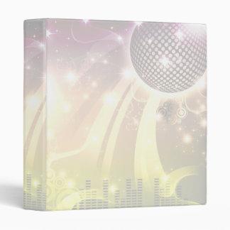disco cityscape light 3 ring binder