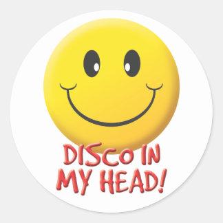 Disco Classic Round Sticker