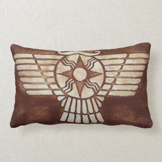 Disco con alas asirio cojines