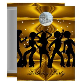 Disco party invitations announcements zazzle disco dance birthday party disco ball card stopboris Gallery
