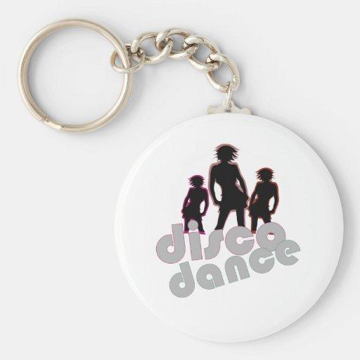 Disco Dance Key Chains