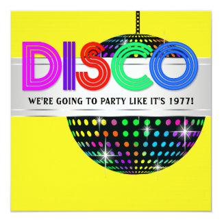 disco dance party invitations - Disco Party Invitations